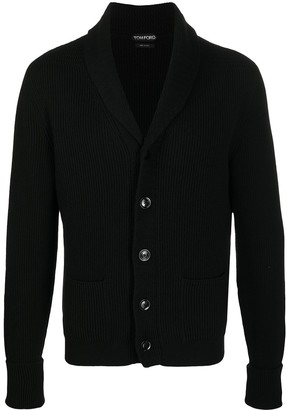 Tom Ford Button-Up Cashmere Cardigan