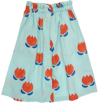 Bobo Choses Printed Organic Cotton Midi Skirt