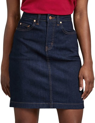 Dickies Women's Perfect Shape Jean Skirt
