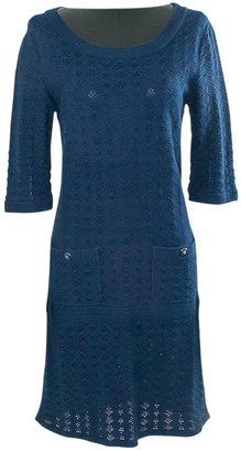 Chanel Navy Cotton Dresses