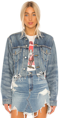 Denimist Cropped Agnes Trucker Jacket