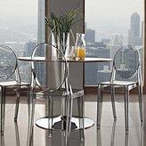 LexMod Casper Dining Chairs Set of 2 in Smoke