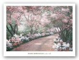 "McGaw Graphics Azalea Walk by Diane Romanello 24""x35"" Art Print Poster"