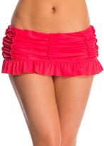 Betsey Johnson Swimwear Beach Club Solids Skirtini Bottom 8146572