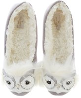 Kate Spade Samantha Owl Slippers