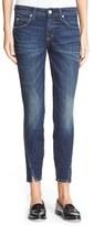 Amo 'Twist' Crop Skinny Jeans (True Blue)
