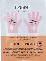 Nails Inc Shine Bright Moisturising & Anti-Aging Hand Mask