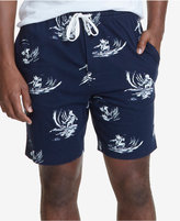 Nautica Men's Surfer-Print Pajama Shorts