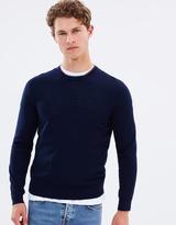 Paul Smith Merino Wool Multi Trim Knit