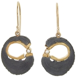 Jamie Joseph Horseshoe Gold Joinery Earrings
