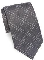 John Varvatos Textured Silk-Blend Tie