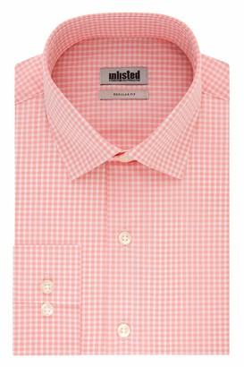 Kenneth Cole Reaction Men's Dress Shirt Regular Fit Check
