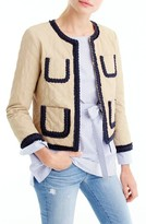 J.Crew Women's Quilted Safari Jacket