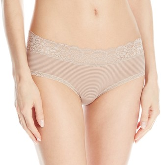Vanity Fair Women's Flattering Lace Hipster Panty 18281