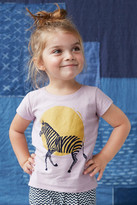 Tea Collection Zebra Graphic Tee (Toddler Girls, Little Girls & Big Girls)