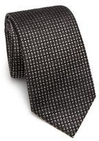 Armani Collezioni Black Brick Tie
