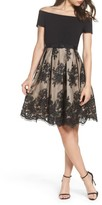 Eliza J Women's Off The Shoulder Lace Dress