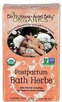 Earth Mama Angel Baby Postpartum Bath Herbs organic Non GMO herbal sitz bath healing pads 6 ct