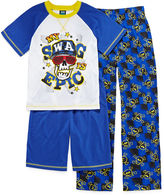 JCPenney JELLIFISH KIDS Jelli Fish Kids 3-pc. Swag Pajama Set - Boys 4-16