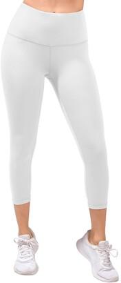 90 Degree By Reflex Missy Interlink High Waist Capri Leggings