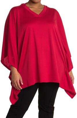 Marina Hooded Pullover Poncho