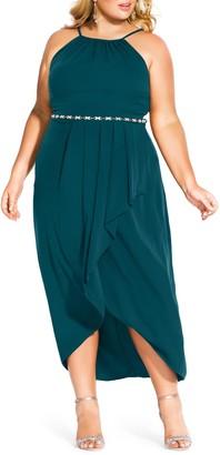 City Chic Lovestruck Maxi Dress (Regular & Plus)