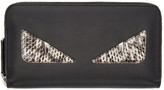 Fendi Black Long 2Jours Wallet