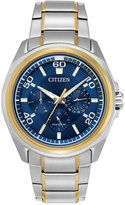 Citizen Men's Calendrier Two-Tone Stainless Steel Bracelet Watch 44mm BU2064-58L, A Macy's Exclusive Style