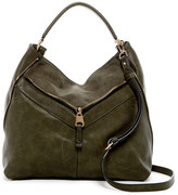 Urban Expressions Sawyer Vegan Leather Shoulder Bag