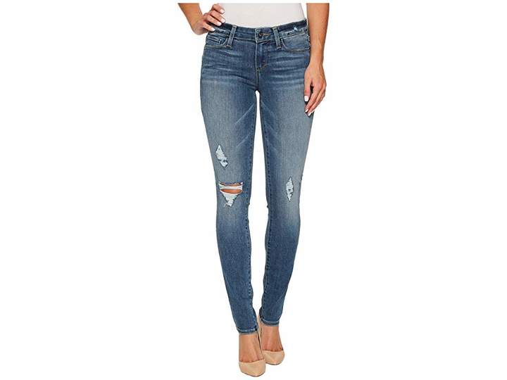 Paige Verdugo Ultra Skinny in Sienna Destructed Women's Jeans