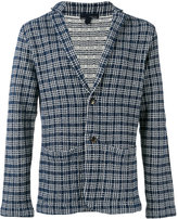 Lardini checked blazer - men - Cotton/Polyamide - S