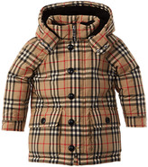 Burberry Vintage Check Hooded Down Puffer Jacket