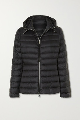 Moncler Amethyste Hooded Quilted Shell Down Jacket - Black