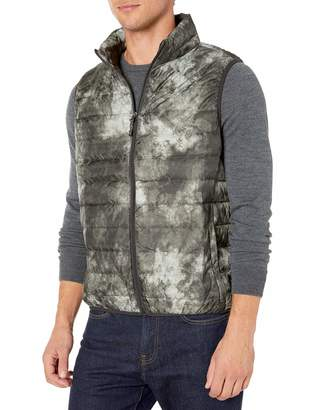 Hawke & Co Men's Lightweight Packable Down Vest | Wind and Rain Resistant All Season Shell