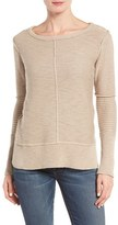 Michael Stars Women's Ribbed Cotton Sweater