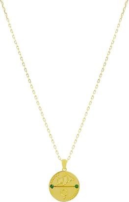 Cvlcha Taurus Zodiac Necklace - Gold