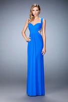 La Femme 22727 Ruched Sweetheart Sheath Dress