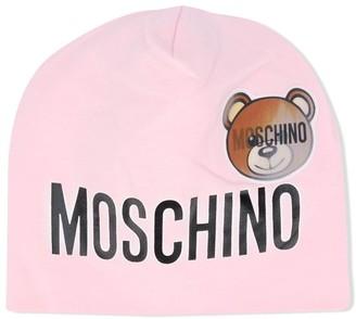 MOSCHINO BAMBINO Toy beanie hat