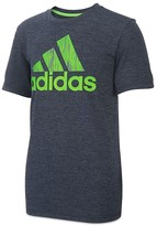 adidas Boys' Logo Print Performance Tee - Little Kid