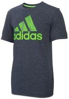 adidas Boys' Logo Print Performance Tee - Sizes 4-7