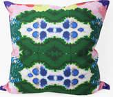 Colorful World Reversible Linen Pillow