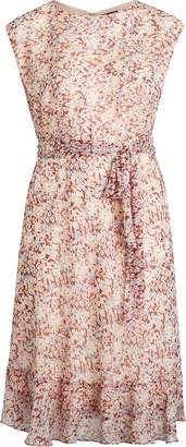 Ralph Lauren Floral-Print Georgette Dress