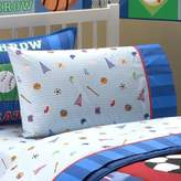 Olive Kids Game On 200-Thread-Count Standard Pillowcase