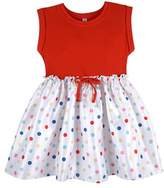 Andy & Evan Girls' Red Dot T-shirt Dress.