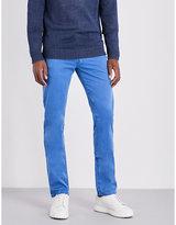 Corneliani Slim-fit Tapered Stretch-denim Jeans
