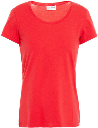 Ernest Leoty Emilie Stretch-tencel And Cotton-blend Jersey T-shirt