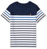 Ralph Lauren Boys 8-20 Short Sleeve Striped Cotton Jersey Tee