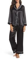 Oscar de la Renta Women's Sleepwear Charmeuse Pajamas