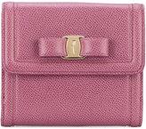 Salvatore Ferragamo Gancio French continental wallet - women - Calf Leather - One Size