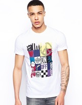 Love Moschino T-Shirt With Patchwork Print